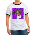 German Shorthair Pointer Head Ringer T