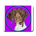 German Shorthair Pointer Head Mousepad