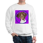 German Shorthair Pointer Head Sweatshirt