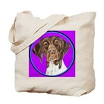 German Shorthair Pointer Head Tote Bag