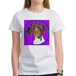 German Shorthair Pointer Head Women's T-Shirt
