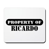 Property of Ricardo Mousepad