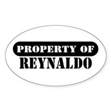 Property of Reynaldo Oval Decal