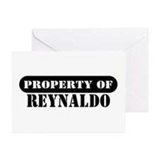 Property of Reynaldo Greeting Cards (Pk of 10)