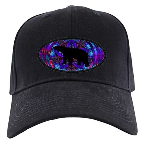 Bear Black Cap
