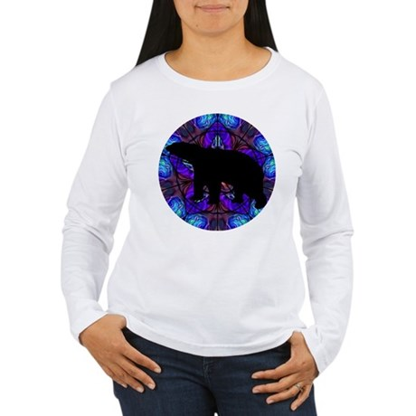 Bear Women's Long Sleeve T-Shirt
