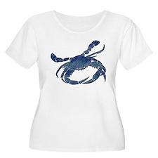 Chesapeake Bay Blue Crab Plus Size T-Shirt