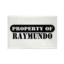 Property of Raymundo Rectangle Magnet (10 pack)
