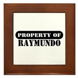 Property of Raymundo Framed Tile