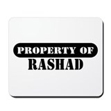 Property of Rashad Mousepad