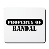 Property of Randal Mousepad