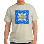 I Love It Skiing In Colorado Ash Grey T-Shirt