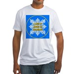 I Love It Skiing In Colorado Fitted T-Shirt