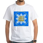 I Love It Skiing In Colorado White T-Shirt