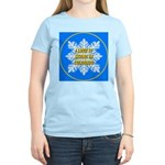 I Love It Skiing In Colorado Women's Pink T-Shirt