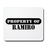 Property of Ramiro Mousepad