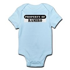 Property of Ramiro Infant Bodysuit