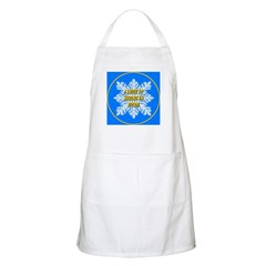 I Love It Skiing in Utah BBQ Apron