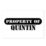 Property of Quintin Postcards (Package of 8)