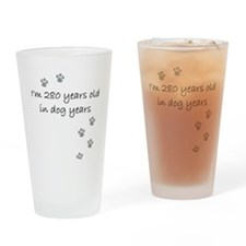 40 dog years 2-1.JPG Drinking Glass
