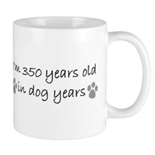 50 dog years 2-2.JPG Mugs