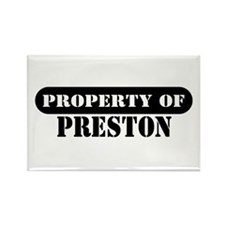 Property of Preston Rectangle Magnet