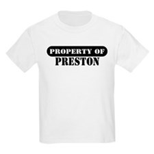 Property of Preston Kids T-Shirt