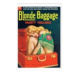 Postcards (pkg. 8) - 'Blonde Baggage'