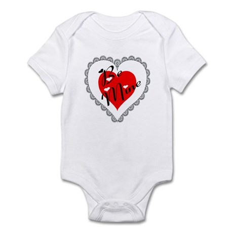 Lacy Heart Infant Bodysuit