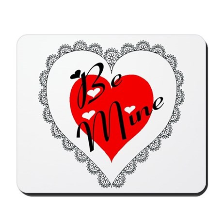 Lacy Heart Mousepad