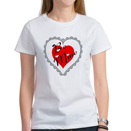 Lacy Heart Women's T-Shirt
