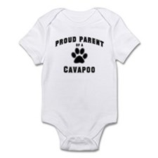 Cavapoo: Proud parent Infant Bodysuit