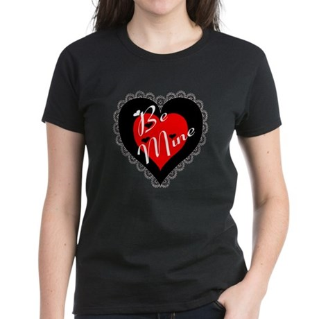 Lacy Heart Women's Dark T-Shirt