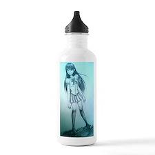 manga girl Water Bottle