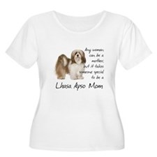 Lhasa Apso Mom Plus Size T-Shirt