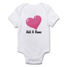 Pink Candy Heart Infant Bodysuit