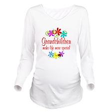Special Grandchildren Long Sleeve Maternity T-Shir