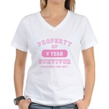 Property Of Survivor Personalized Shirt