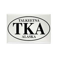 Talkeetna Rectangle Magnet (10 pack)