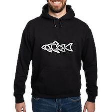 Salmon Celtic Design Hoodie