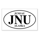 Juneau Rectangle Decal