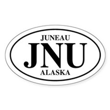Juneau Oval Decal