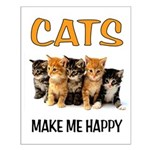 HAPPY CATS Posters