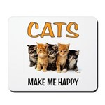 HAPPY CATS Mousepad