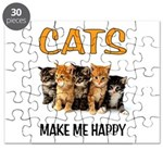 HAPPY CATS Puzzle