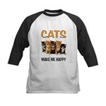 HAPPY CATS Baseball Jersey