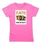 HAPPY CATS Girl's Tee