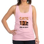 HAPPY CATS Racerback Tank Top