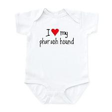 I LOVE MY Pharaoh Hound Infant Bodysuit
