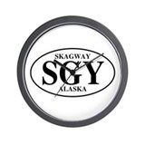 Skagway Wall Clock
